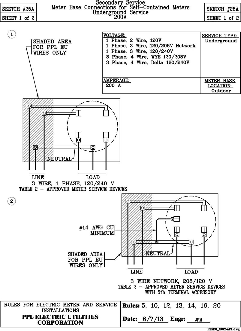 13 Terminal Meter Socket Wiring Diagram Trusted Diagrams 120 240 Volt 12 Lines Sketch 25a Current Transformer