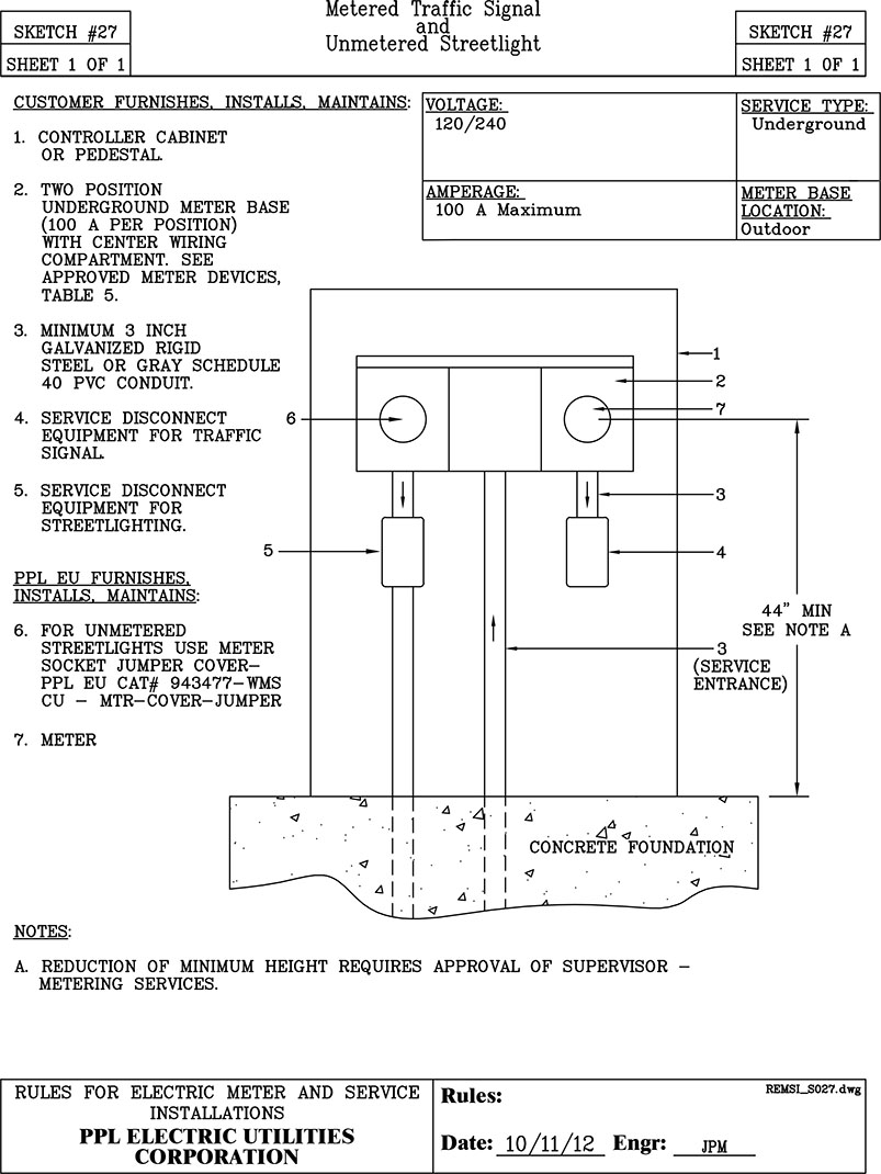 Sketch 27 Service Meter Wiring Diagram Stay Connected