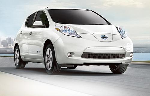 Nissan Leaf, electric